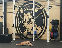 CrossFit HQ Wall Graphics