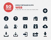JI-Glyph Web Icons Set