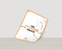 Free PSD Poster Mockup For Branding 2018