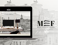 MEF Real Estate - Brand Identity & website design