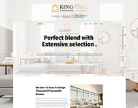 King Real - Architecture and Interior Design WordPress