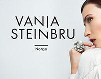 Vanja Steinbru jewelry - Identity design
