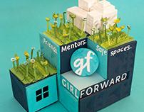 GirlForward Paper Design