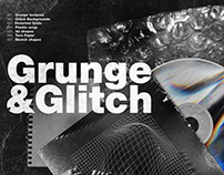 Grunge & Glitch Artistic Toolkit