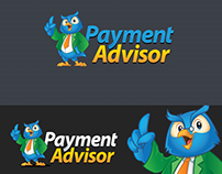 Logo + Character Payment Advisors