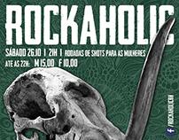 RockaholicFestival - Poster Design