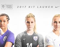 LSU Soccer Kit Launch