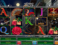 "Online slot game - ""Zorro"""