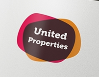 United Properties logo and business card