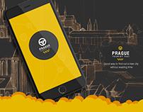 Prague tourist taxi app