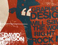 Graphic design will save the world.