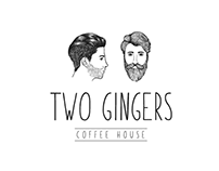 Two Gingers - Logo Design @superflymarketing