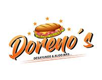 Logotipo realizado para Doreno´s