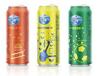 Ice Tea San Benedetto / sleek can Italy edition