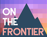 """""""On The Frontier"""" Podcast Art"""