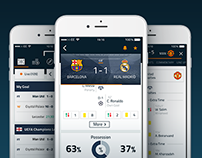 Goal Live Scores - App Redesign