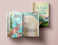 The Rabbit and the Butterfly // Book Design