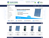SOLARTERMIC - Solar panels ecommerce