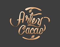 Arte & Cacao Accesories / Logo Lettering
