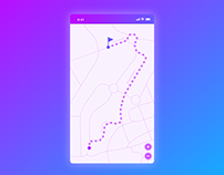 Daily UI #029 — Map