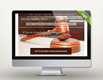 Landing Page - Legal Referral Service