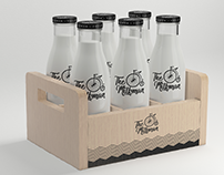 The Milkman - Packaging Design