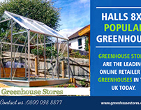 Halls 8x6 Popular Greenhouse | 800 098 8877 | greenhous