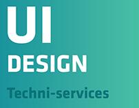Techni-Service UI Design
