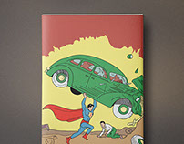 Superman Cover - Ph. D. Comic