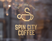 Spin City Coffee - Branding