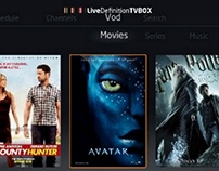 Live Definition video player