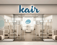 Kair Fashion Typographic and Architectural Branding