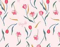 Spring Tulips Pattern