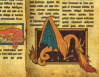 Pokemon Illuminated Manuscript
