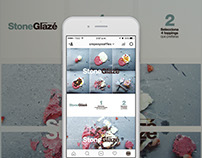Estrategia Digital STONE GLAZE Crepes & Waffles