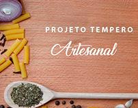 Tempero Artesanal - Embalagem - PV2