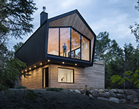 Le Littoral Residence in La Malbaie by Architecture49
