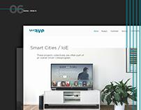 Wave - Corporate Website