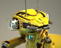 Mantis - 3D droid