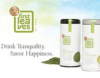 Brand Identity for a premium tea.