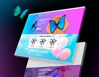 Дизайн интернет-магазина живых бабочек «Annifly»