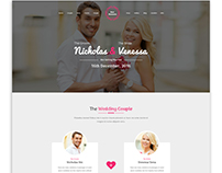 Best Moments - Wedding PSD Site Template