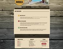 Propuesta restyling web Baraka