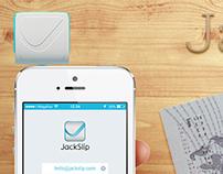 Mobile POS terminal JackSlip