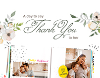 Mother's Day emailer newsletter