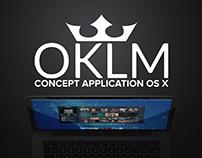 Concept d'Application OS X OKLM Radio & OKLM.com