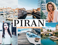 Free Piran Mobile & Desktop Lightroom Presets