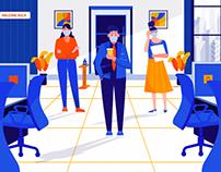 Return of the workforce - Post Covid 19
