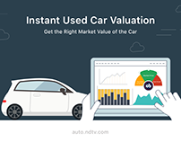 Instant Used Car Valuation - Infographics