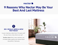 Landing Page Testing for DTC Mattress Brand Nectar